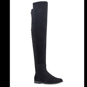 NEW- Eltynn over the knee boots, Nine West, 8.5